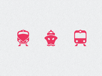 NYC Transit Icons