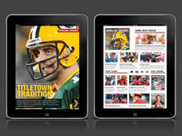 Athlon Sports Ipad App Design