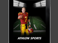 Athlon Sports Ipad App Launch Screen