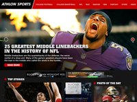 Athlon Sports Website Redesign Version 2