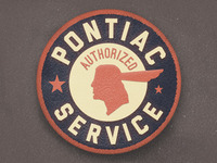 Pontiac Service Patch