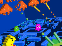 Space Invaders vs. Pacman