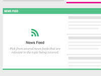 PLAY! - News Feed Box