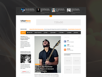 UrbanNews Magazine Theme