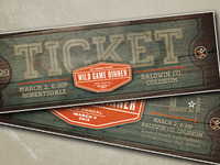 Wild Game Dinner Ticket