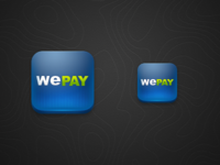 WePay iOS App Icon (original attempt)