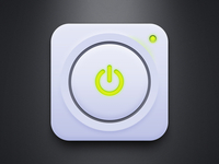 Power Button (Free PSD)