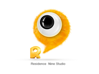 R9 logo for kids