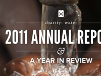 charity: water annual report 2