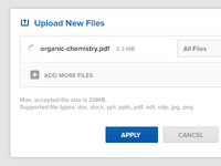 Upload New Files