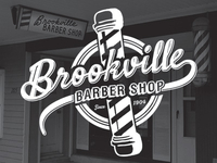 Brookville Barber Shop Logo