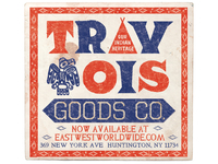 TRAVOIS GOODS CO. INDIAN HERITAGE