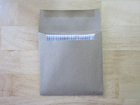 Clotheshorse Pocket Square Packaging Back
