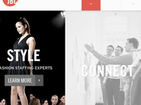 Fashion Recruiter Web Comp