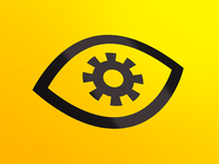 Eye Cog Icon