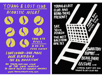 Young and Lost Club new posters
