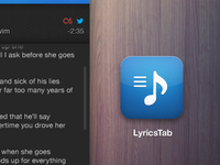 Lyrics App Icon