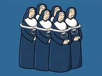 Six Pack of Nuns