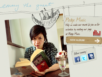 Emmy the Great Pledge Microsite