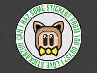 HELP! - I need stickers!