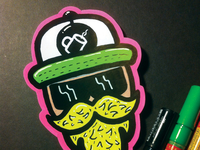 Tobsy - handmade Sticker - cloudartist