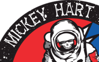 Mickey Hart Band Tour Sticker