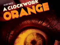 A Clockwork Orange Postcard
