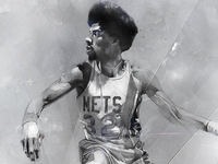 Julius Erving for Slang Inc