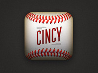 Cincy Lineup App iPhone Icon