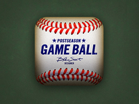 Postseason Game Ball App Icon