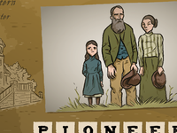 Pioneer illustration