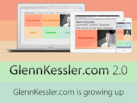 GlennKessler.com 2.0 is here