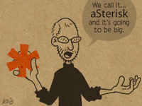 Steve Jobs Introducing aSterisk