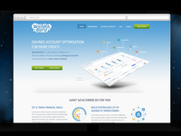 Landing page for wealthbird