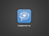 App Icon for Ungdomar.se
