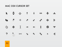 Mac Cursor Set
