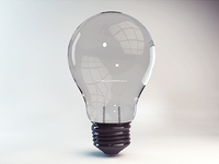 3D Lightbulb