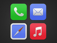 iOS7 Icons Redone :(