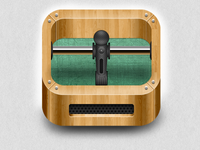 Foosball icon (no blur)