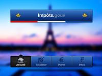 French tax app's ui sucks