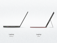 Laptop Evolution