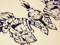 Quick Armor Sketch