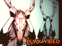 Video - Girl with Deer Skull Illustration