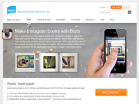 Instagram books with Blurb