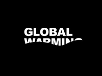 Just a concept/idea of ​​the logo of Global Warming