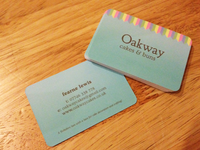 Oakway Business Cards
