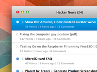 Hacker News for Mac Teaser