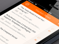 Hacker News (YC) mobile app