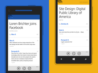 Designer News Articles - Windows Phone