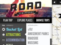 Roadtrippers.com Logo section